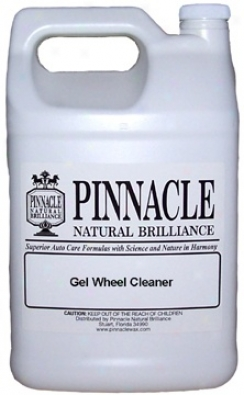 Pinnacle Gel Wheel Cleaner 128 Oz.