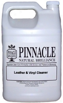 Pinnacle Leather & Vimyl Cleaner 128 Oz.