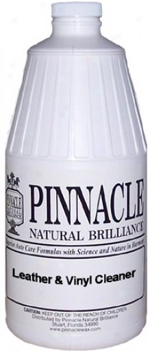 Pinnacle Leather & Vinyl Cleaner 64 Oz.