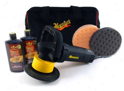 Pinnacle Twins & Meguiars G110v2 Dual Action Polisher Kit  Free Bonus