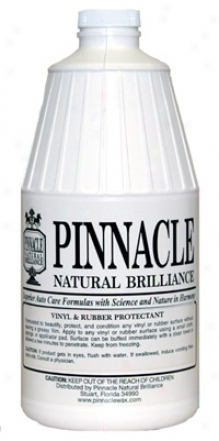 Pinnacle Vinyl & Rubber Protdctant 64 Oz.