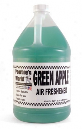 Poorboy's World Air Freshener 128 Oz. - Green Apple