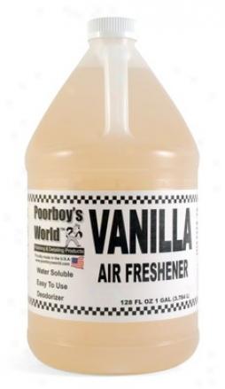 Poorboy's World Air Freshener 128 Oz. - Vanilla