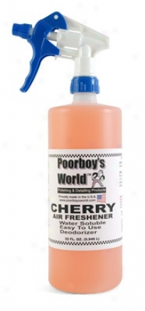 Poorboy's World Gas Freshener 32 Oz. - Cherry