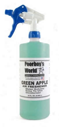 Poorboy's World Air Freshener 32 Oz. - Green Apple
