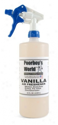 Poorboy's World Air Freshener 32 Oz. - Vanilla