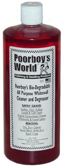 Poorboy?s Universe Bio-degradable All Purpose Cleaner And Degreaser 32 Oz.