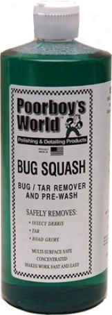 Poorboy?s World Bug Squash 32 Oz. Refill