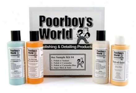 Poorboy's World Polish & Wax Kit
