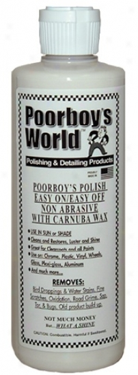 Poorboy's  World Polish Witu 100% Carnauba 32 Oz.