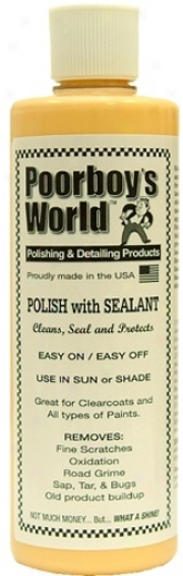 Poorboys World Polish With Sealant  32 Oz.