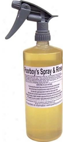 Poorboy?s World Spray An Rinse Wheel Cleaner 32 Oz