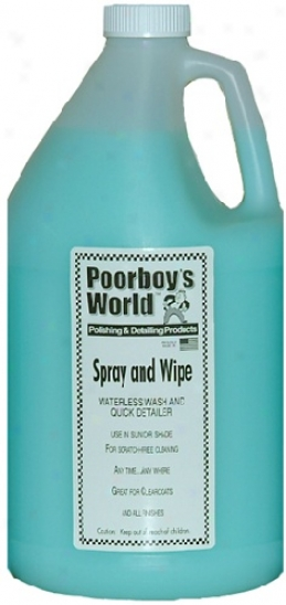 Poorboy's Public Watterless Wash 1 Gal. Refill