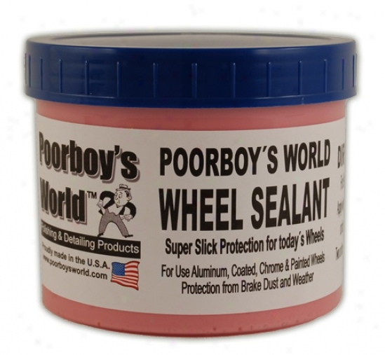 Poorboy's World Wheel Sealant 32 Oz.