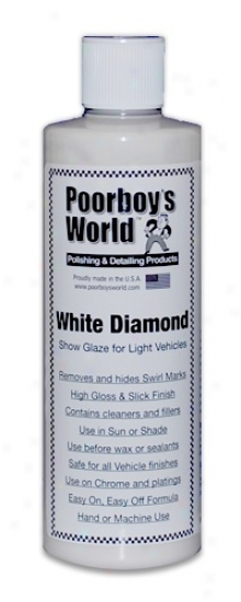 Poorboy?s World White Diamond Show Glaze For Illuminate Vehicles