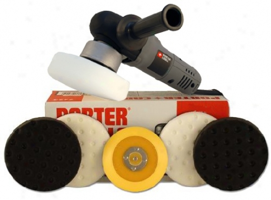 Porter Cable 7424xp Intro Pad Kit   Free Bonus