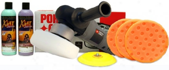 Porter Cable 7424xp Polisher Combo Free Bonus!