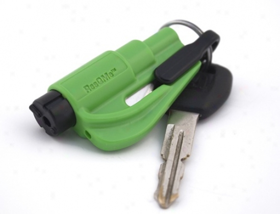 Res-q-me Keychain Excape Tool - Green