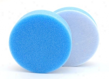 Single 4 X 1.25 Inch Hydro-tech Cyan Advanced Cutting Foam Pad