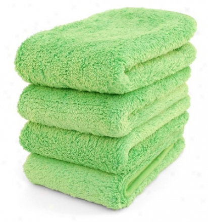 Special Purchase Microfiber Buffing Towels 4 Pack - Limited Availability!