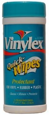Vinylex Quick-wwipes Protectant For Vinyl, Rubber, Plastic