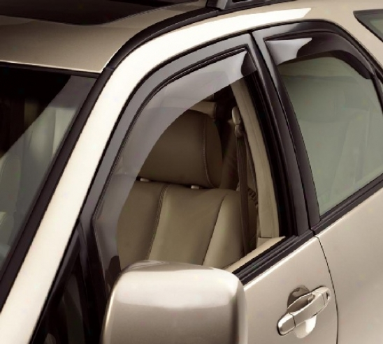 Weathertech Twine & Rain Deflectors 4pc.