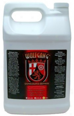 Wolfgang Black Brilliant Tire Gel128 Oz.