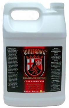 Wolfgang Clay Lubricant 128 Oz.