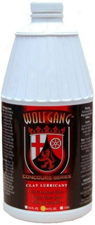 Wolfgang Clay Lubricant 64 Oz.