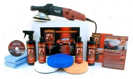 Wolfgang Flex Xc3401 Concours Polishing Kit Free Bonus