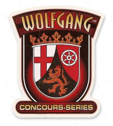 Wolfgang Logo Sticker - Shallow