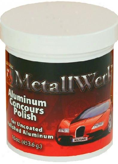 "Wolfgang Metallwerkâ""¢ Concours Aluminum Polish"