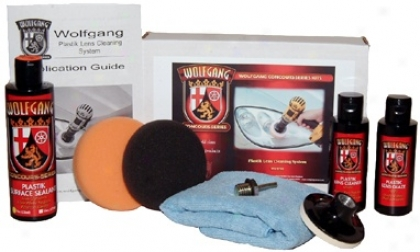 Wolfgang™ Plastik Lens Cleaning System
