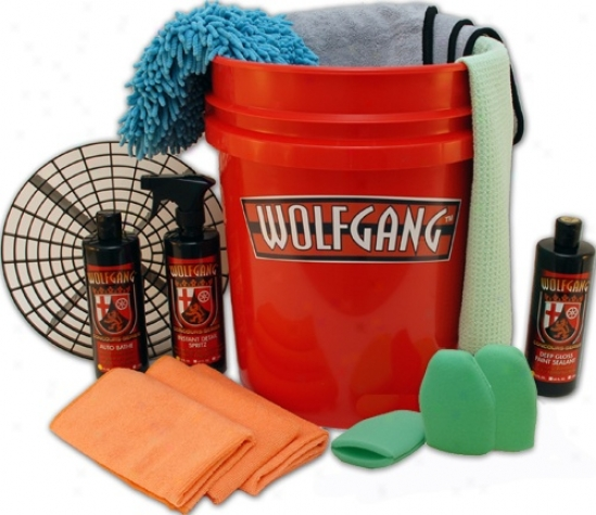 Wolfgang Wash Bucket Gift Pack