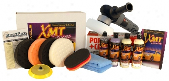 Xmt Porter Cable 7424xp Intervening Swirl Remover Kit  Free Premium