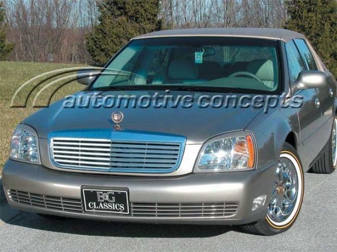 """00-05 Cadillac Deville E&g Classics Classic 3d """"z"""" Grille 1986-0200-00"""