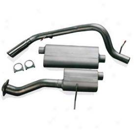 01-04 Chevrolet Suburban 1500 Flowmaster Exhaust System Kit 17341