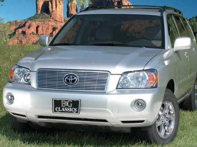 """01-07 Toyota Highlander E&g Classics 1/4 X 1/4 """"q"""" Grille"""