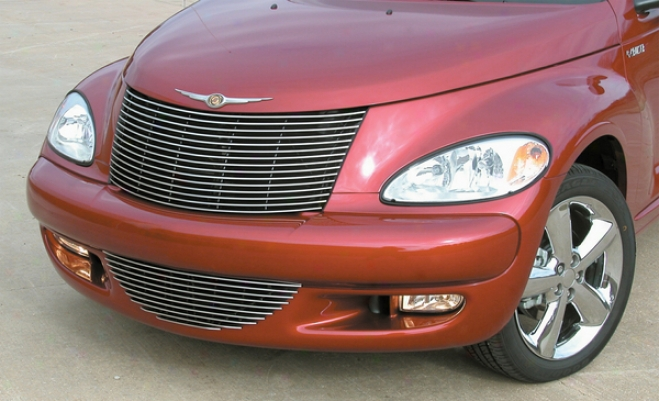 01-10 Chrysler Pt Cruiser E&g Classics Horizontal Upper Billet Grille