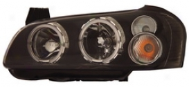 02-03 Nissan Maxima Anzo Head Light Assembly 121113