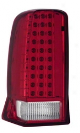02-06 Cadillac Escalade Anzo Tail Light Assembly 311120