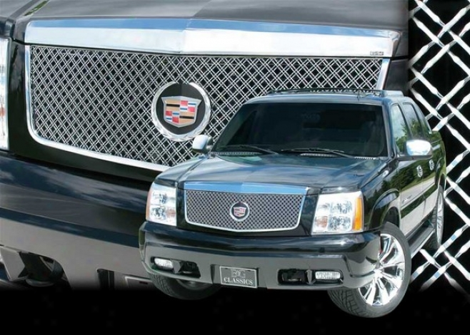 02-06 Cadillac Escalade E&g Classics Classic Dual Weave Mesh Grille