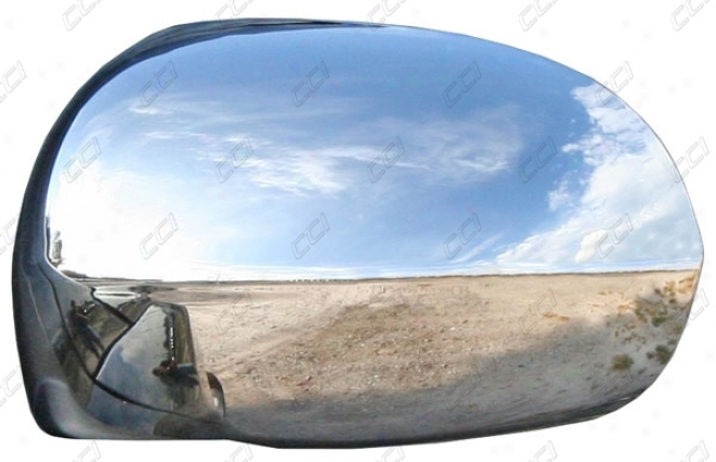 02-06 Escalade Shore To Coast International Chrome Abs 2 Piece Mirror Cover Half