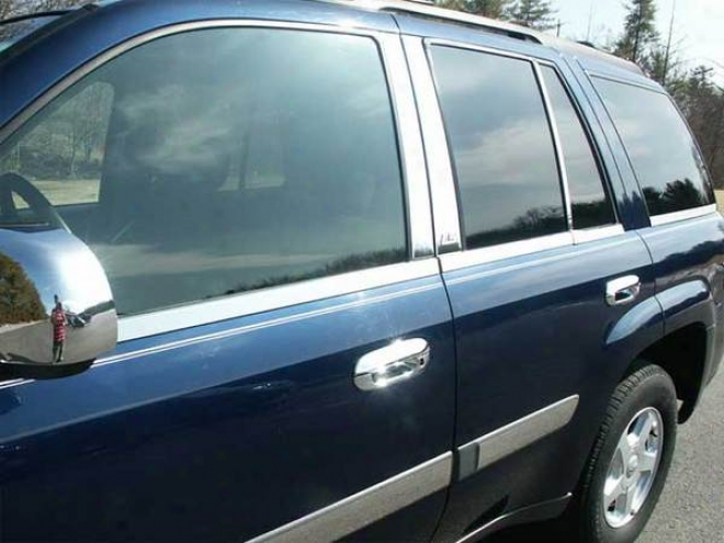 02-08 Chevrolet Trailblazer Quality Window Sills Ws42290