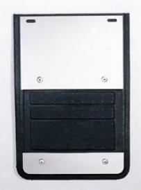 02-10 Dodge Ram 1500 Deflecta-shield Aluminum Mud Flap Ex930dg02