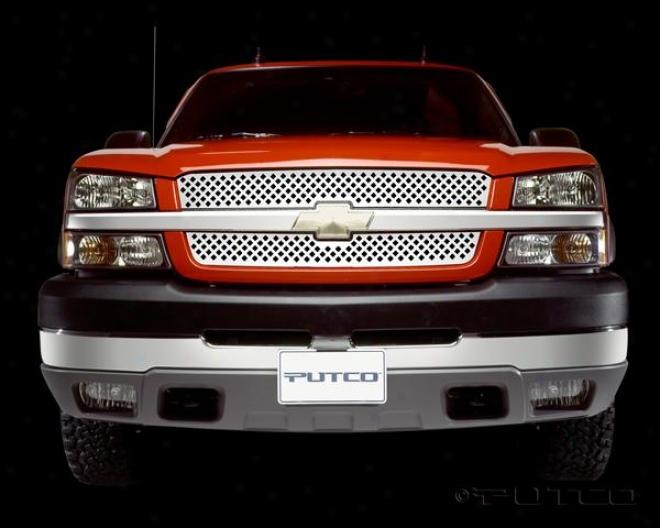 03-05 Chebrolet Silverado 1500 Putco Designer Fx Grills 64208