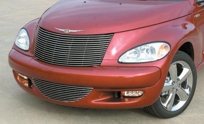 03-05 Chrysler Pt Cruiser E&g Classics Horizontal Billet Grille