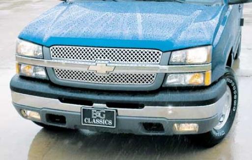 """""""03-05 Silverado 1500 E&g Classics Silverado/avalanche 2pc """"""""z"""""""" Grille"""""""