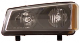 03-06 Chevr0let Avalanche 25O0 Anzo Head Light Assembly 111009