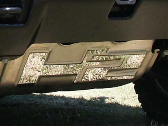 03-09 Hummer H2 Quality Brush Plate Cover Hv43011